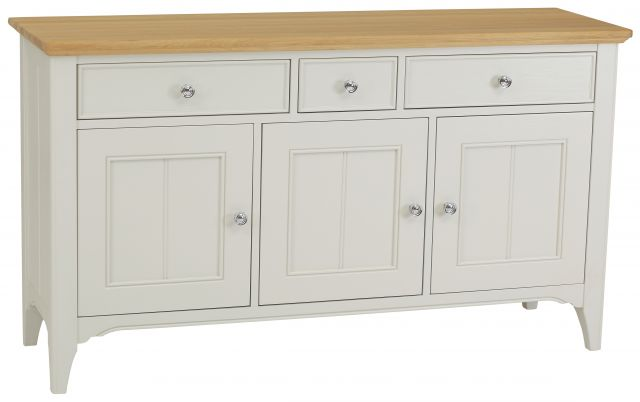 New England Wide 3 Door Sideboard