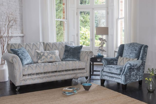 Glasgow - 2 Seater Sofa F Fabric