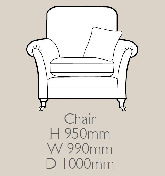 Glasgow - Chair F Fabric