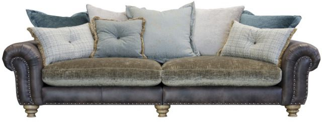 Bloomsbury - Grand Split Sofa Pillowback Cushions