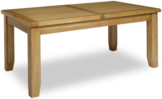 Country Oak 180cm Extending Dining Table