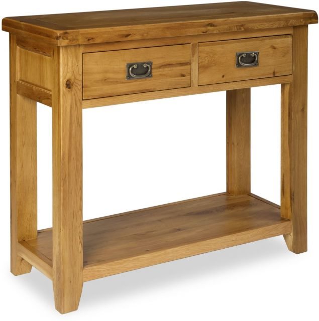 Country Oak Console Table