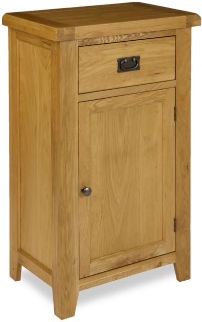Country Oak Hall Way Cupboard