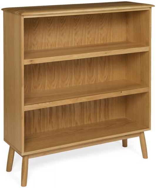 Scandi Wide Bookcase