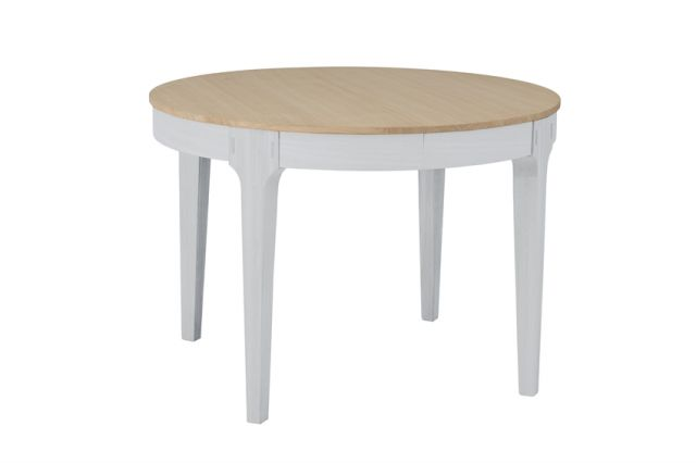Mia Dining Table round Extending