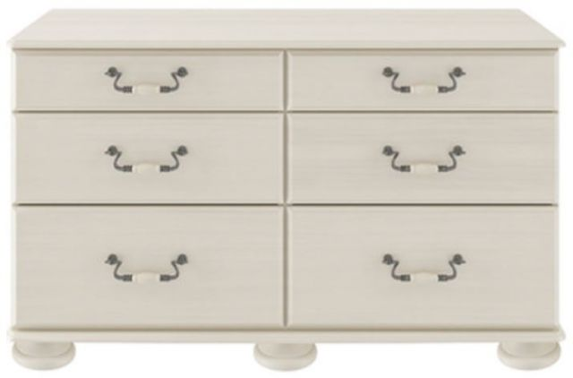 Signature Cream 6 Drawer Chest