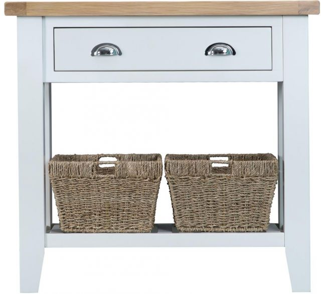 Padstow White Console Table