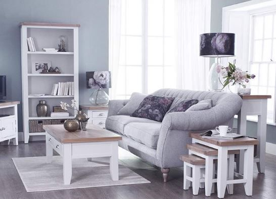 Padstow White Small Coffee Table