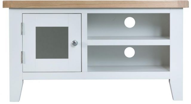 Padstow White Standard TV Unit