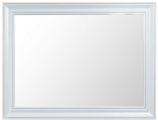 Padstow White Large Wall Mirror