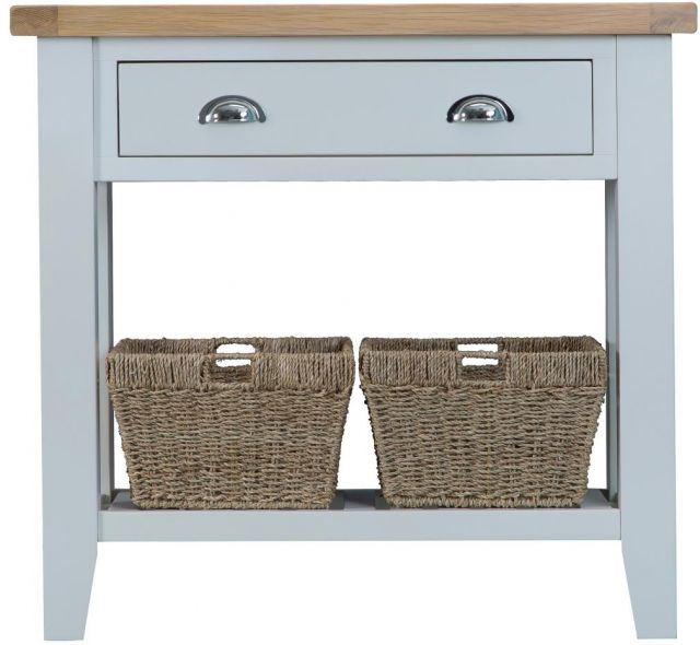 Padstow Grey Console Table