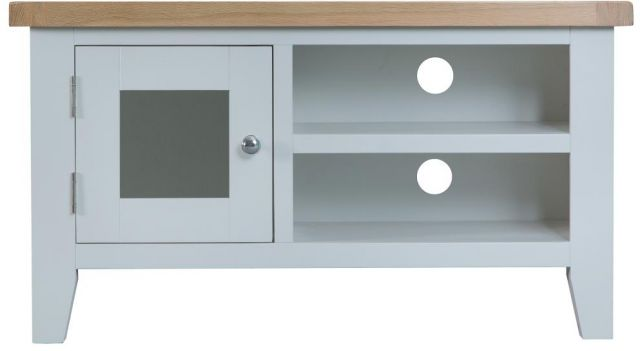 Padstow Grey Standard TV Unit