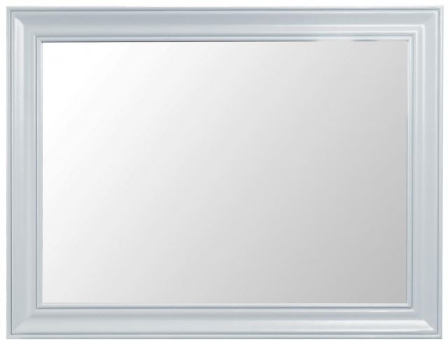 Padstow Grey Large Wall Mirror