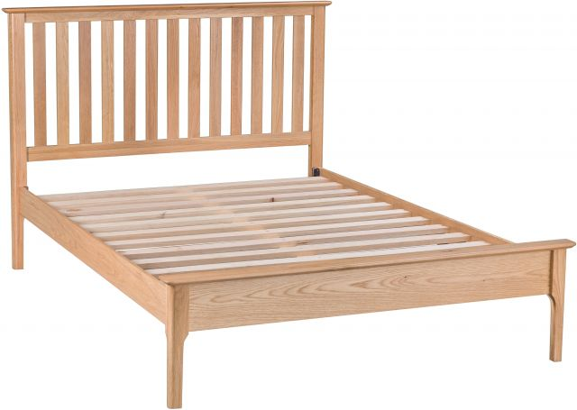Delta Bedroom 4'6 Slatted Bed