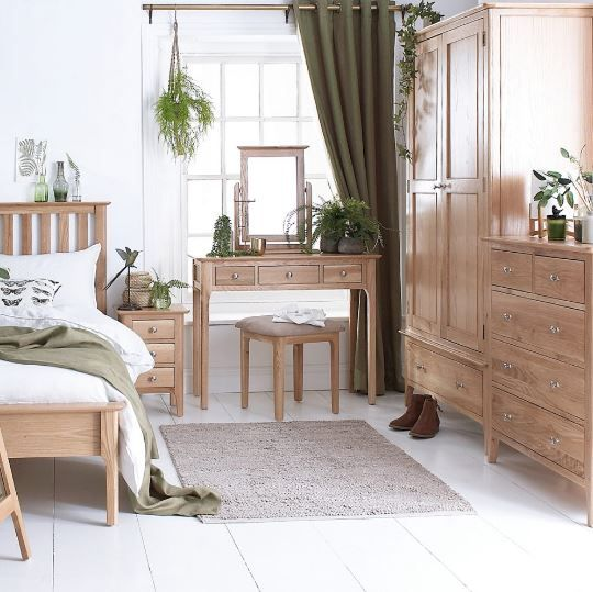 Delta Bedroom 5'0 Slatted Bed