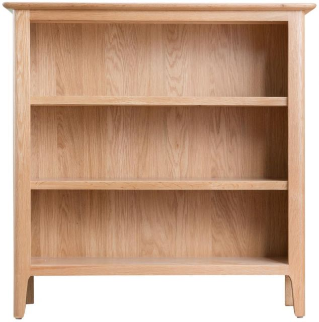 Delta Dining Small Wide Bookcase