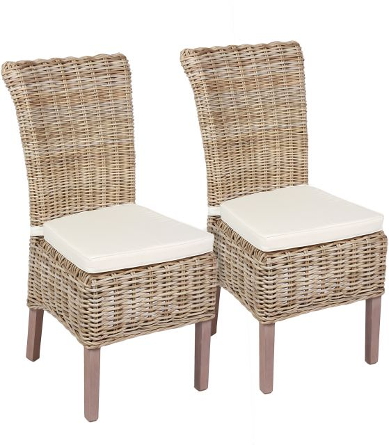 Wicker Chair Including Cushion