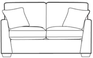 Studio 2 Seater Sofa Cover - Special Edition
