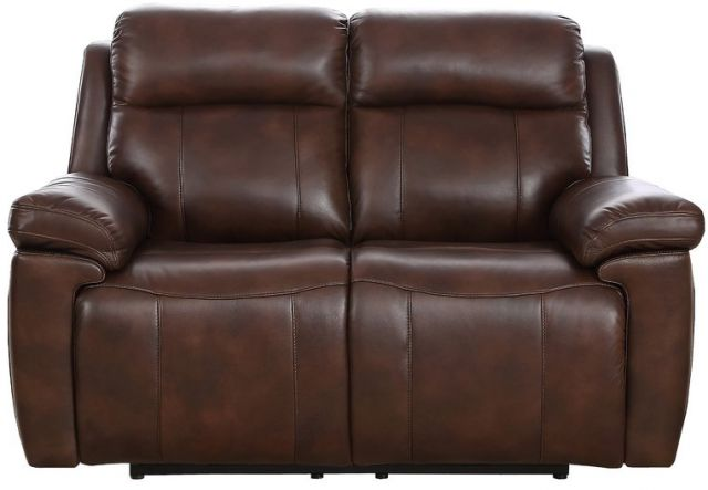 Montana - 2 Seater Manual Recliner Sofa Leather Bonded