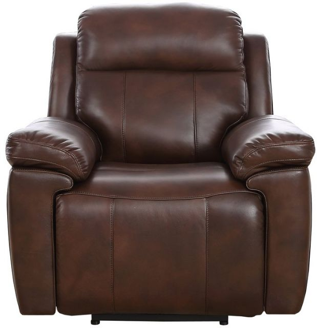 Montana - Powered Recliner Chair ( Including Powered headrest & Lumbar) Leather Bonded