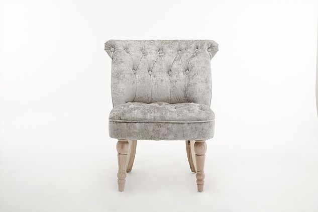 Lichfield - Buttoned Backed Chair Fabric Truffle