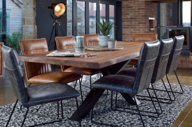 Greatford Dining 200cm C-Leg Dining Table