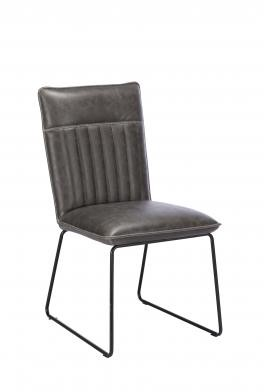 Greatford Dining Vintage Dining Chair Grey