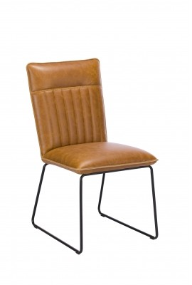 Greatford Dining Vintage Dining Chair Tan