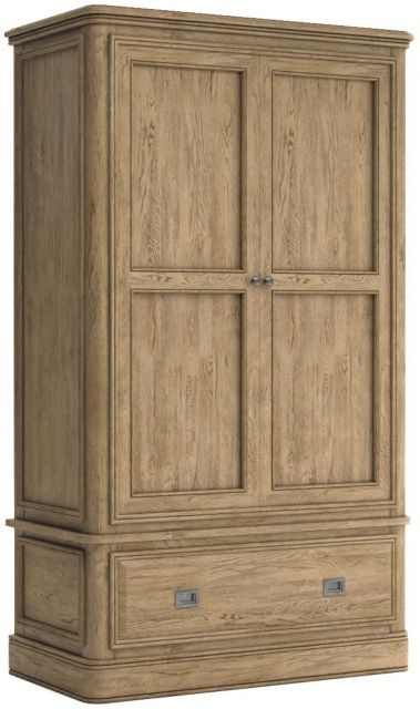 Avignon Double Wardrobe with Drawer