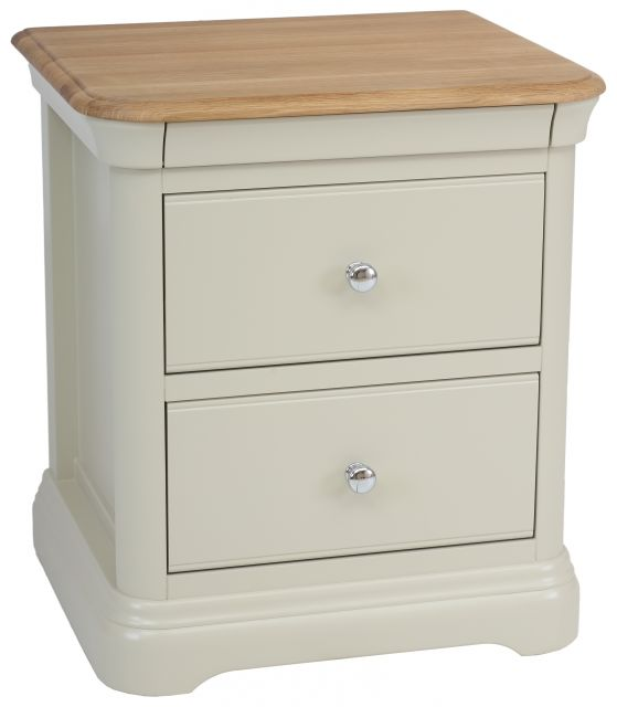 Cromwell Bedroom 2 Drawer Bedside