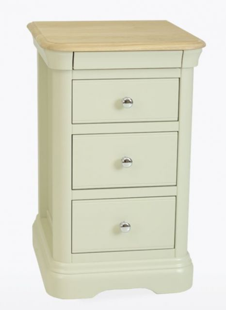 Cromwell Bedroom 3 Drawer Bedside