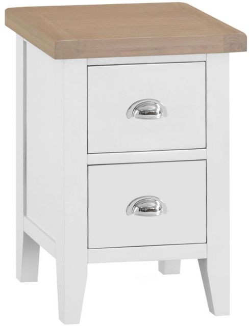 Padstow Small Bedside WHITE
