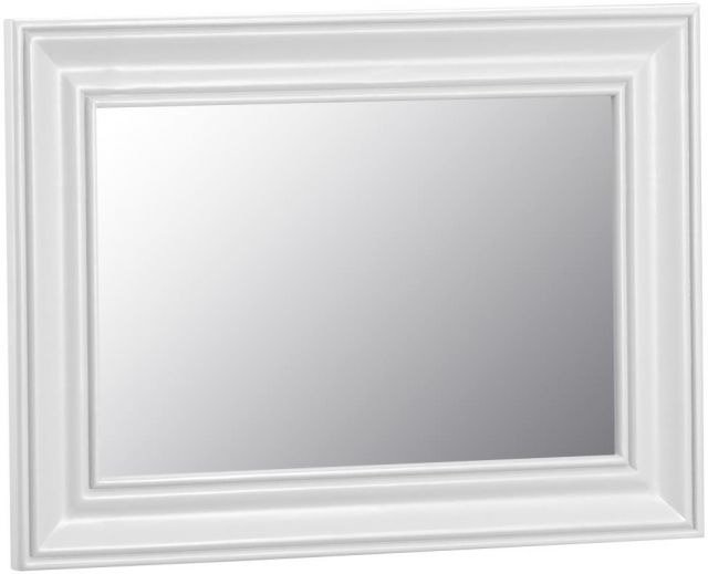 Padstow Small Wall Mirror WHITE