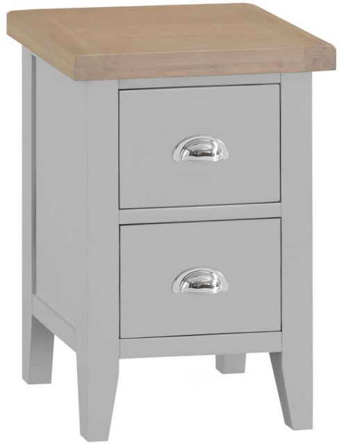 Padstow Small Bedside GREY