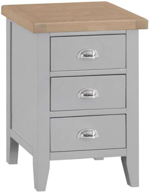 Padstow Large Bedside GREY