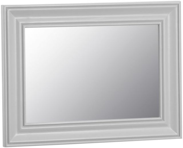 Padstow Small Wall Mirror GREY