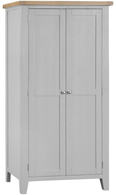 Padstow Full Hanging Wardrobe GREY