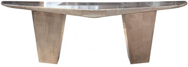 Heritage Collection  Wing Desk - Jet Silver