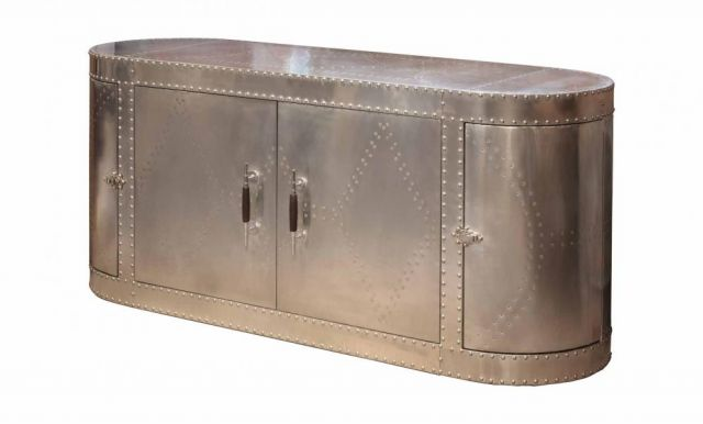Heritage Collection Sideboard - Jet Silver