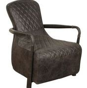 Heritage Collection Broadway Snug Chair - New Grey Leather (Liberty)