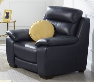 Chicago Collection Fixed Armchair Split Leather