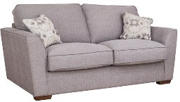 Barcelona Collection 3 Seater Settee  Pillow Back A Range Fabric