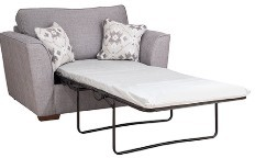 Barcelona Collection Chair Bed Standard 80cm Sofa Bed  Standard Back A Range Fabric
