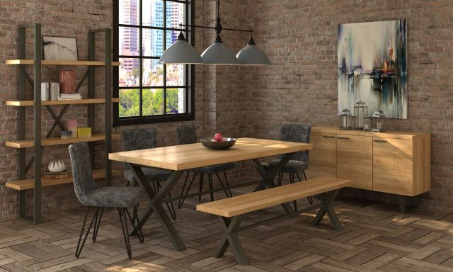 Studio Collection Dining Table 190 x 95 - Oak