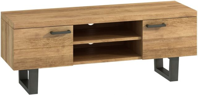Studio Collection TV Unit - Oak