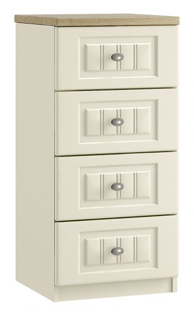 Jakarta Bedroom Collection 4 Drawer Narrow Chest