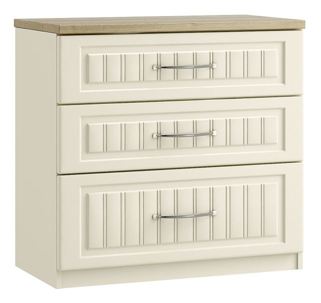 Jakarta Bedroom Collection 3 Drawer Chest With 1 Deep Drawer