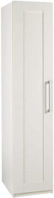 Argent Bedroom Collection Short HeightSingle Wardrobe