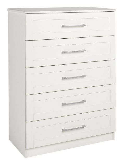 Argent Bedroom Collection 5 Drawer Chest