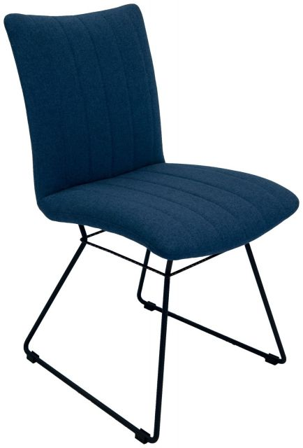 Set Of 2 Mila Dining Chair - Mineral Blue